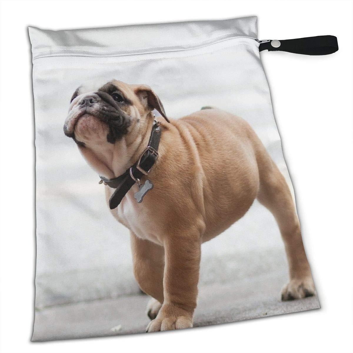 Amazoncom Bulldog Dog Dog Collar Muzzle Sundries Bag Diaper Bag Baby