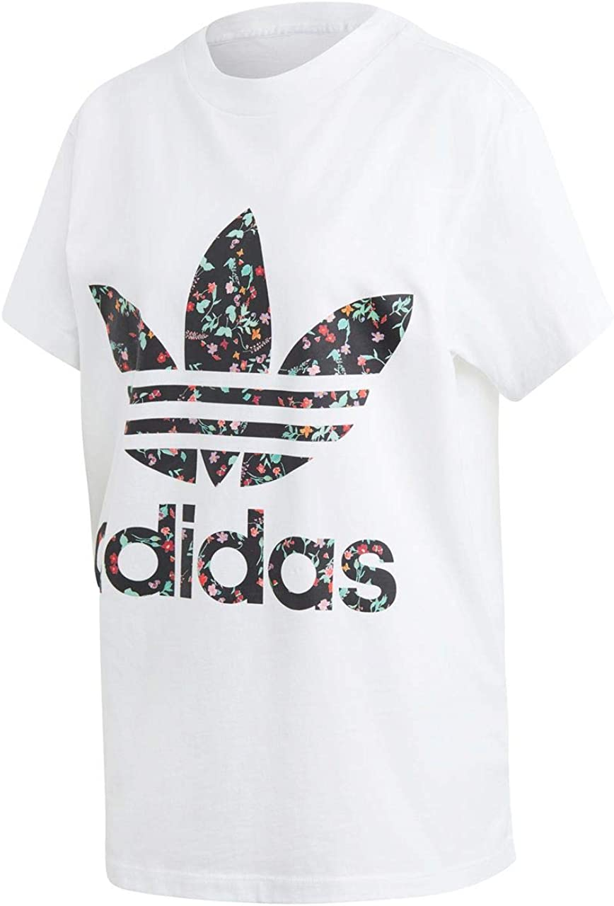 Puede ser ignorado tuyo visitar  adidas T-Shirt - White, Size:36: Amazon.co.uk: Clothing