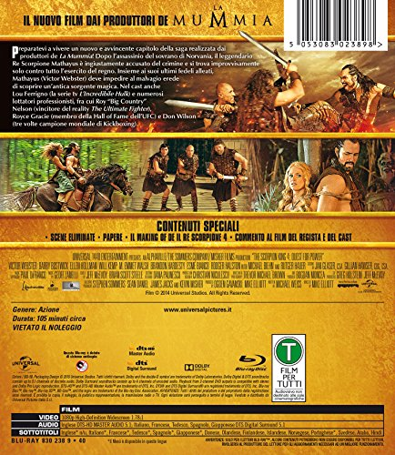 Il Re Scorpione English Full Movie Download