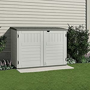 Suncast-BMS4700-The-Stow-Away-Horizontal-Storage-Shed-70-cubic-Feet