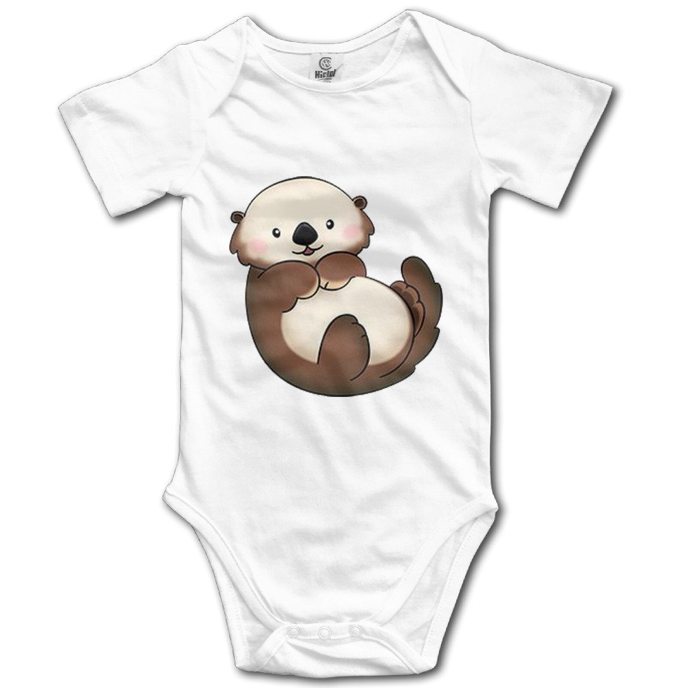 ZHOAYU Cute Otter Bodysuit Climb Clothes Romper Infant Toddler Climb Jumpsuit