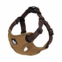 PetsUp Nylon Harness for Puppy Dogs (Large, Brown)