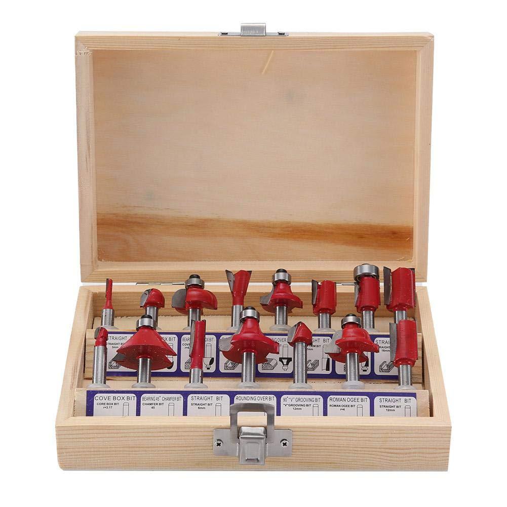 Prise europ/éenne Zerone Woodwork Slotting Tondeuse /à bois /électrique gravant tondeuse /électrique avec 15 m/èches de toupie