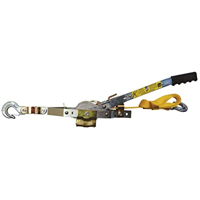 Maasdam Pow'R Pull WS-1 1 Ton Capacity Web Strap Pull'R with 12' of Web Strap: Home Improvement