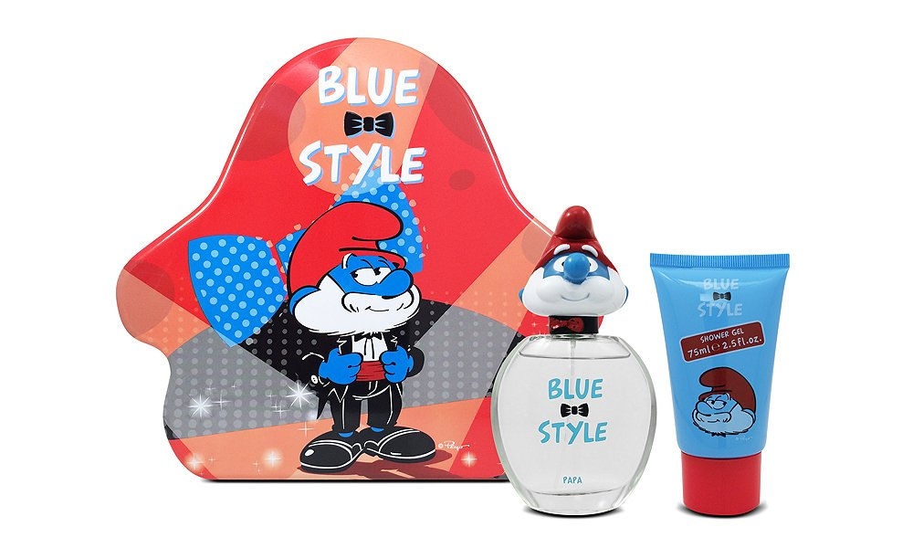 First American Brands Smurfs 3D Papa Perfume for Children, 1.7 Ounce