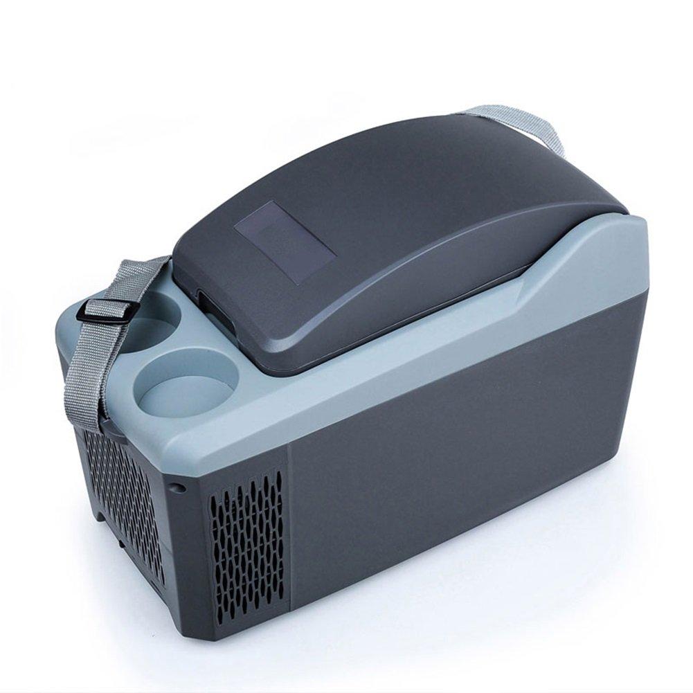 LIQICAI 10L Elektrische Kühlbox Tragbar Tragegurt Auto Minikühlschrank Erhitze 2 Tassenhalter an der Spitze/12V DC (Auto)/220V AC (Zuhause) (größe : for Car)