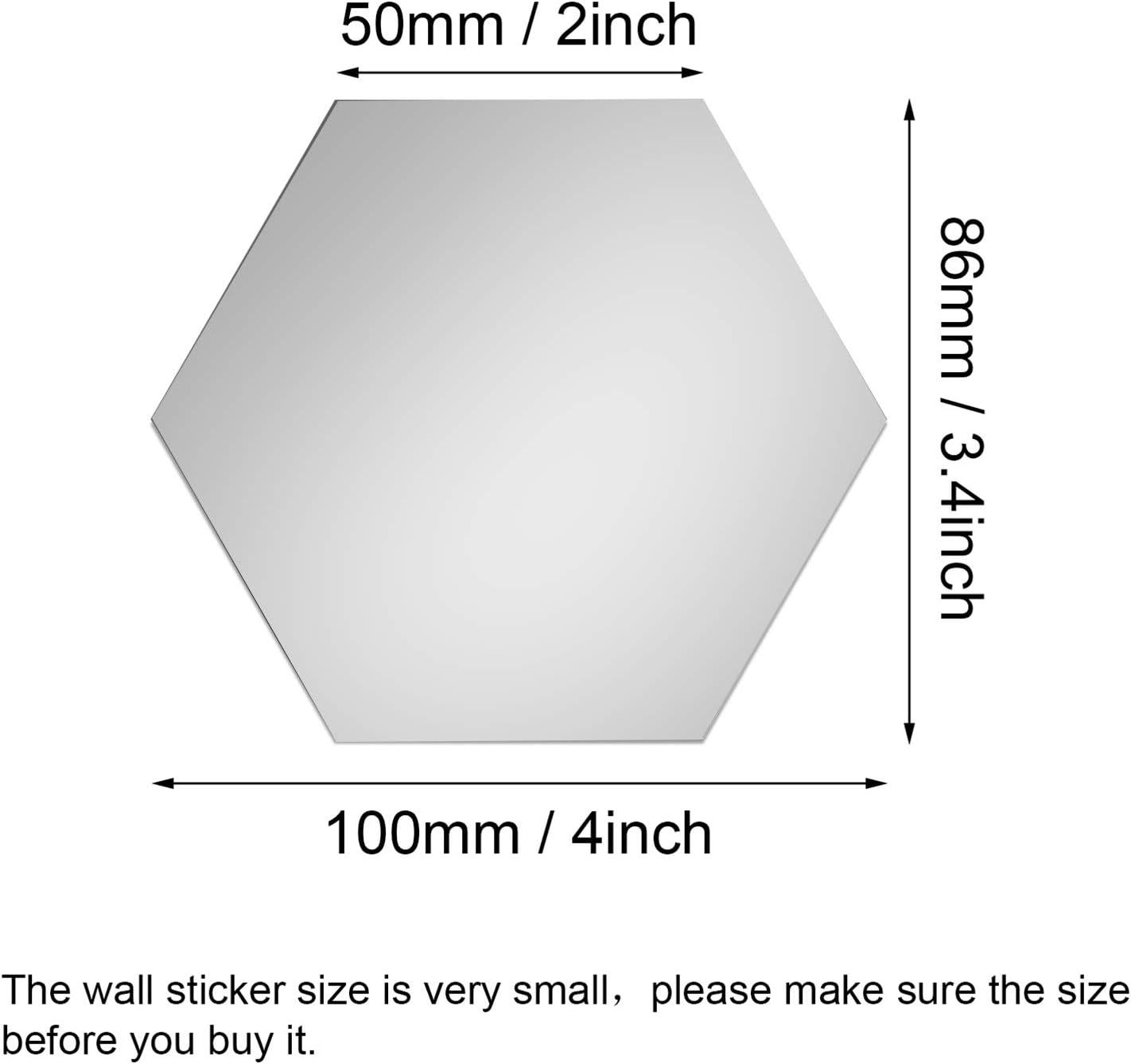 Geometric Puzzle Ice Crack Mirror Sticker Mural Decal Art  Acrylic Sticker UK