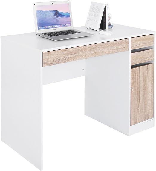 WOLTU Mesa Escritorio de la Computadora Mesa de Oficina Mesa de PC ...