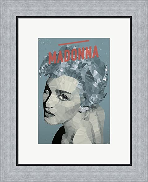 Amazon.com: Madonna by American Flat Framed Art Print Wall Picture ...