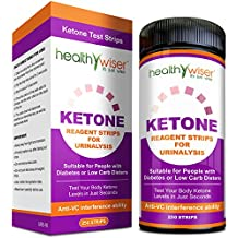Ketone Strips 250ct - Great for Diabetics & Ketosis, Professional Grade Ketone Urine Test Strips for Use in Atkins Diet, Weightloss, Low Carb, Ketogenic, and Paleo Diet Accurate Urinalysis Test Strips
