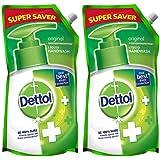 Dettol Original Liquid Soap Refill - 750 ml (Pack of 2)
