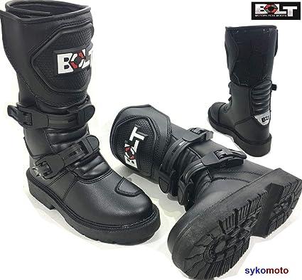 Bolt Bottes de moto Xk15 enfants MX Quad de ATV garçons et filles de juniors Des chaussures de sports (UK 11 EU 29)