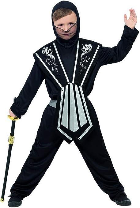 Disfraz Infantil de Samurai de Halloween para niños con Mono ...
