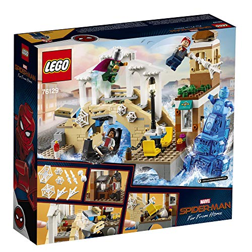 6198w7jh8dL - LEGO Marvel Spider-Man Far From Home: Hydro-Man Attack 76129 Building Kit, New 2019 (471 Pieces)