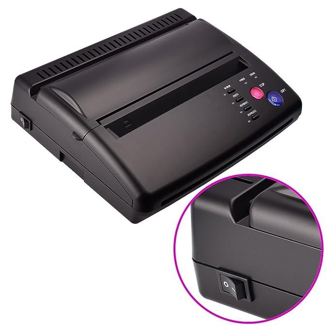 Máquina de Transferencia Tatuajes impresora térmica papel A5 ...