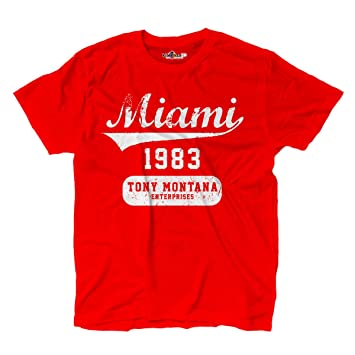 cheaper 7a95a c638b KiarenzaFD T-Shirt Scarface Tony Montana Miami Gangster Film ...