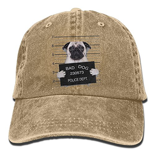 Richard Bad Dog Unisex Cotton Washed Denim Leisure Cap Adjustable - Cheap Bad Costume Breaking