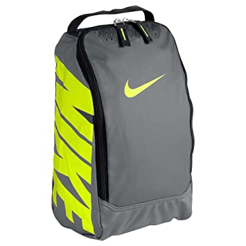 Nike Men s Team Training Shoe Bag - Grey Green 16e76bbf5b25b