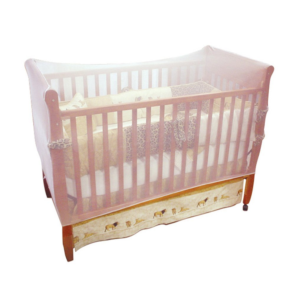 Jeep Crib Universal Size Crib Mosquito Net, White by Jeep (Image #1)