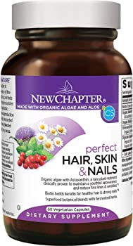 Best Hair Skin and Nail Vitamins