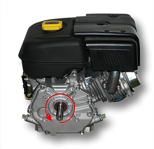 WilTec Motor de Gasolina LIFAN 177 6,6kW (9PS) Motor de Karting de 25mm