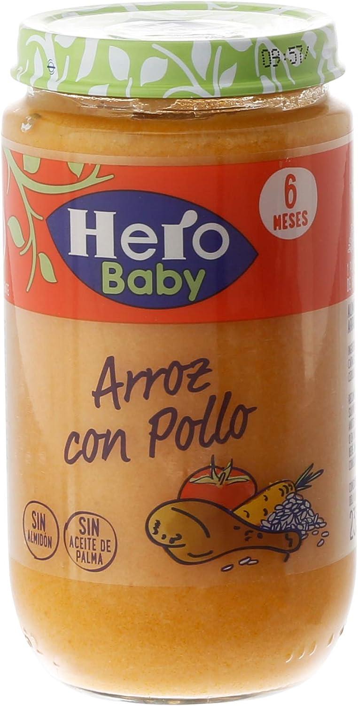 Hero Baby - Arroz Con Pollo Tierno 235 gr - Pack de 6 (Total 1410 gr): Amazon.es: Alimentación y bebidas