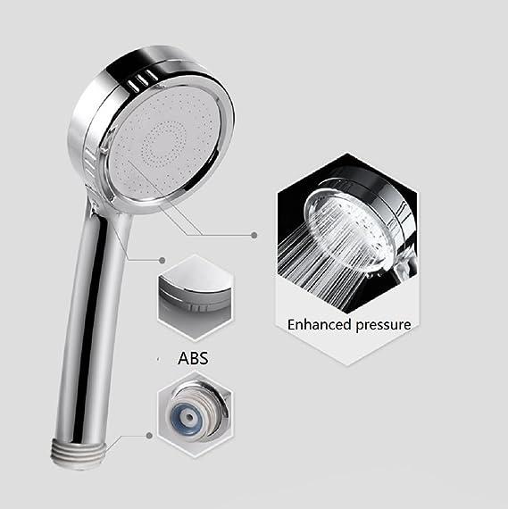 Amazon.com: Ducha de mano Ducha Agua de presión mejorada-Ducha de ahorro Duchas presurizadas-A: Home Improvement