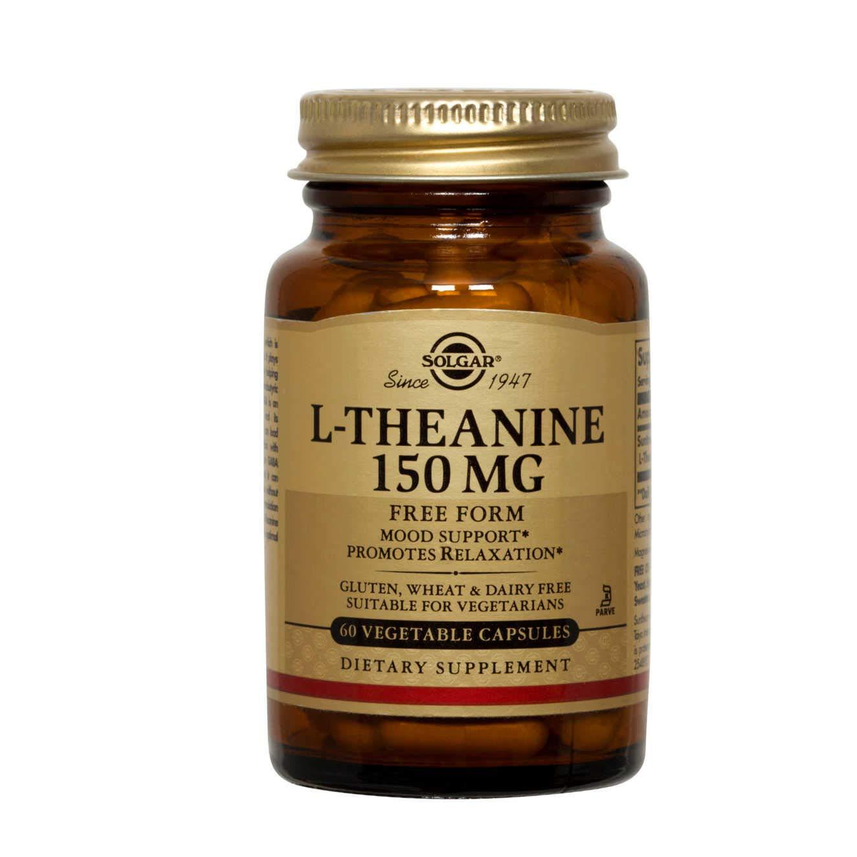 Solgar L-Teanina Cápsulas vegetales de 150 mg - Envase de 60: Amazon.es: Salud y cuidado personal