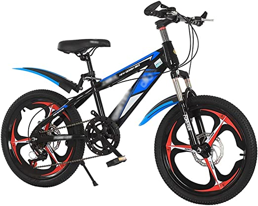 Bicycles 20 Inch Children Mountain Bike Adult Bicycle Male And Female Cross Country Boy Hiking Bicycle Color: Yellow, Size: 20inch