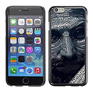 PC/Aluminum Funda Carcasa protectora para Apple Iphone 6 Plus 5.5 Abstract Steve J Pattern / JUSTGO PHONE PROTECTOR