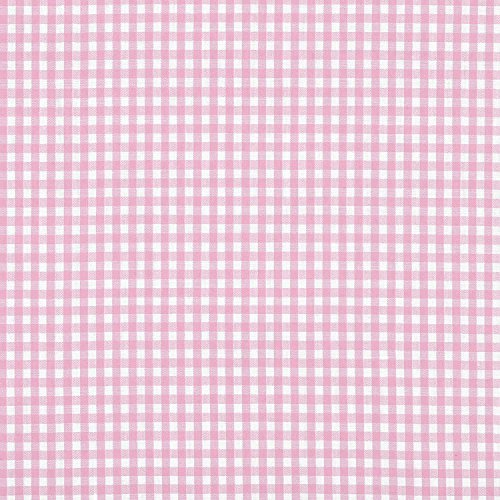 Gingham Fabric Pink (1/8
