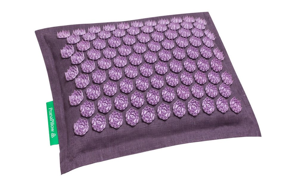 PranaPillow Massage / Acupressure Pillow (Lavender Lavender) by Pranamat ECO