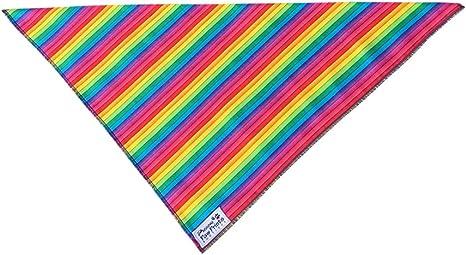 Doggy bandana 18 rainbow paw prints