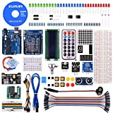 Kuman for Arduino Project Complete Starter Kit with Detailed Tutorial and Reliable Components for R3 Mega 2560 Robot Nano breadboard Kits