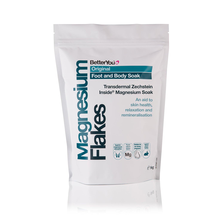 BetterYou Magnesium flakes - foot and body soak, 1000 Gram 616086