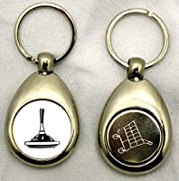 Schlüsselanhänger Eisstock