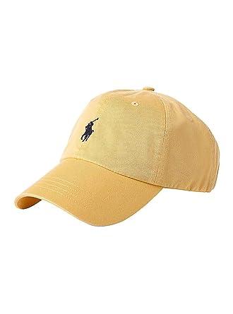 Ralph Lauren Gorra Polo Sport Amarillo U Amarillo: Amazon.es: Ropa y accesorios