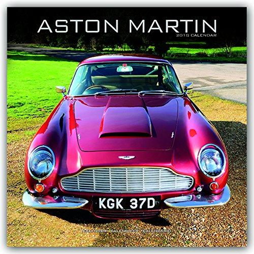 Aston Martin Calendar - Calendars 2017-2018 Wall Calendars - Car Calendars - James Bond - Aston Martin 16 Month Wall Calendar by Avonside