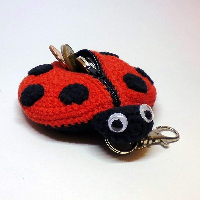 Free Amigurumi Ladybug Keychain Crochet Pattern | 800x800