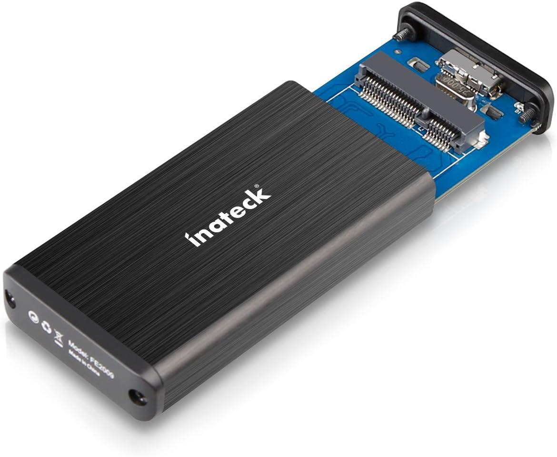 Soporte UASP] Inateck USB 3.0 mSATA Aluminio SSD Enclosure Caja de ...