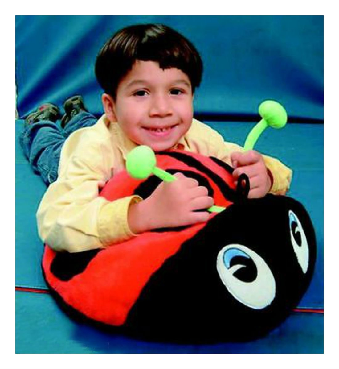 Vibrating Lovable Love Bug ASD Fidget Autism Special Need Tactile Sensory
