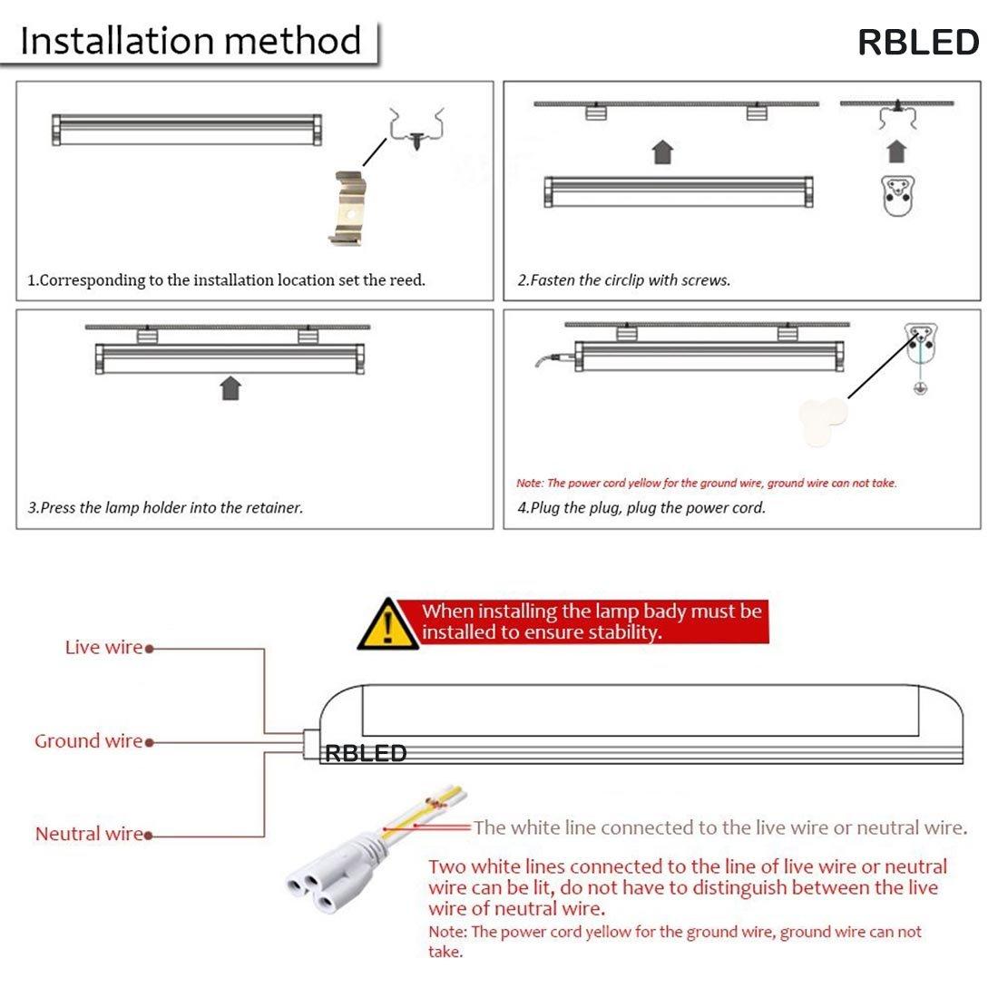 RB Led 2 Feet 10-Watt LED Batten: Amazon.in: Home & Kitchen