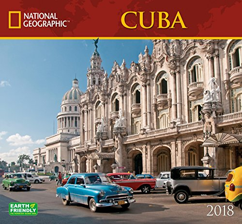National Geographic Cuba 2018 Wall Calendar