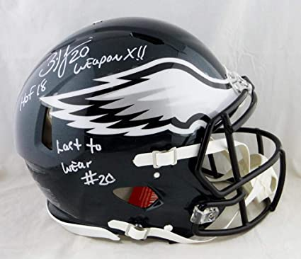 best service f689e 68d90 Amazon.com: Brian Dawkins Signed Eagles F/S Speed Authentic ...