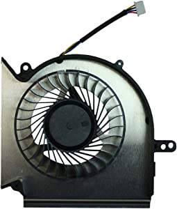Power4Laptops Replacement Laptop CPU Fan for MSI Gaming GL73 8RC, MSI Gaming GL73 8RD, MSI Gaming GP63 8RD Leopard, MSI Gaming GP63 8RE Leopard, MSI Gaming GP75 Leopard 9SE