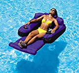 VirtualSurround Inflatable Tahoe Nylon Swimming Pool Lounge Float