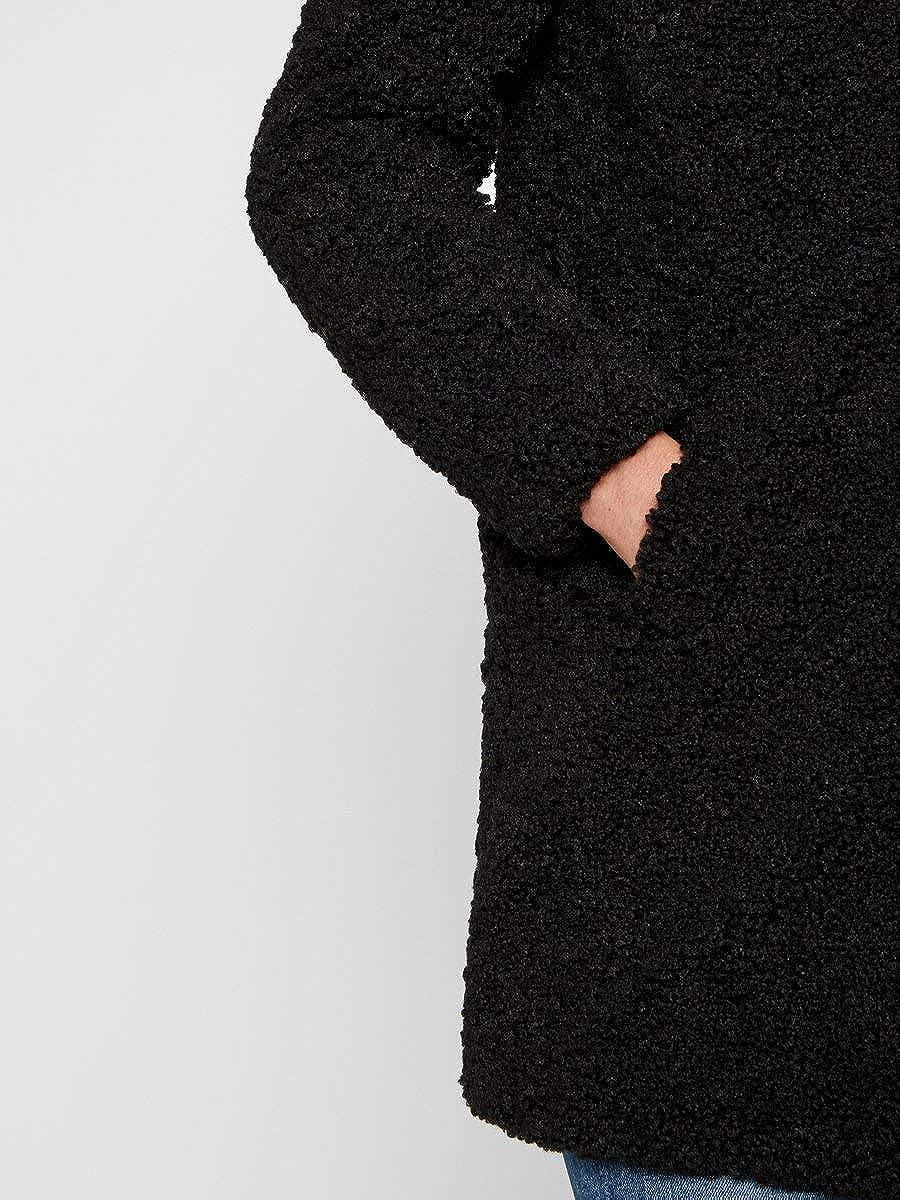 NOISY MAY Nmgabi L/S Jacket Noos Manteau Femme Noir (Noir).