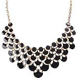 Jane Stone Best Selling Newest Fashion Necklace Vintage Openwork Bib Statement Jewelry