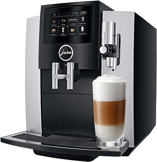 Jura 15202 – Cafetera automática, 4,3 pulgadas grandes, pantalla táctil de alta resolución de pantalla en color, 1450 W: Amazon.es: Hogar