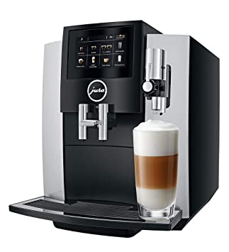 Jura 15202 – Cafetera automática, 4,3 pulgadas grandes, pantalla táctil de alta